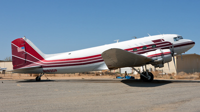 N193DP - Douglas DC-3C - Private