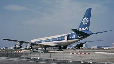N851F - Douglas DC-8-55(F) - Overseas National Airways (ONA)