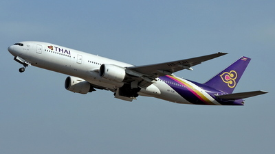 HS-TJH - Boeing 777-2D7 - Thai Airways International