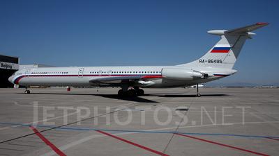 RA-86495 - Ilyushin IL-62M - Russia - Air Force