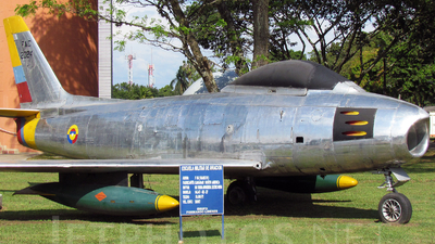 FAC2024 - North American F-86F Sabre - Colombia - Air Force