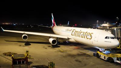 A6-ERQ - Airbus A340-313X - Emirates