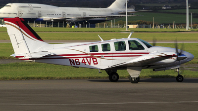 A picture of N64VB - Beech 58 Baron - [TH305] - © Jac Osborne