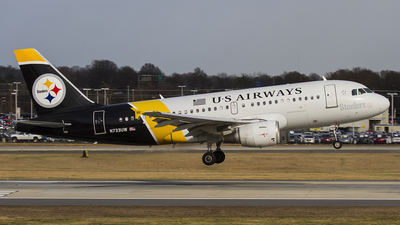 N733UW - Airbus A319-112 - US Airways