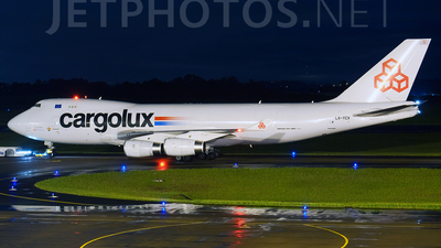 LX-YCV - Boeing 747-4R7F(SCD) - Cargolux Airlines International