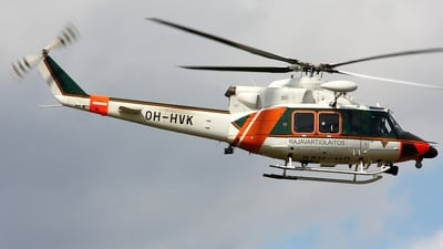OH-HVK - Agusta-Bell AB-412 - Finland - Frontier Guard