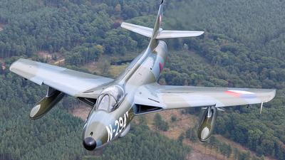 G-KAXF - Hawker Hunter F.6A - Private