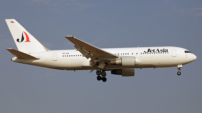 HS-JAB - Boeing 767-222 - Jet Asia Airways