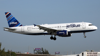 N599JB - Airbus A320-232 - jetBlue Airways