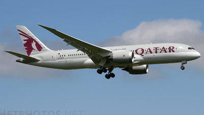 A7-BCK - Boeing 787-8 Dreamliner - Qatar Airways