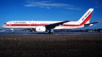 G-BKRM - Boeing 757-236 - Air Europe
