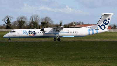 G-JECV - Bombardier Dash 8-Q402 - Flybe