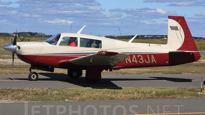 A picture of N43JA - Mooney M20J - [241519] - © Joe Osciak