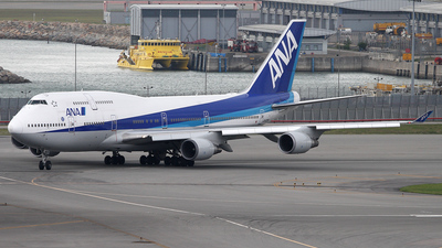 JA403A - Boeing 747-481 - All Nippon Airways (ANA)