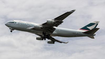 B-HUG - Boeing 747-467 - Cathay Pacific Airways