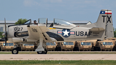 NX9060F - North American T-28B Trojan - Private