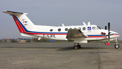 F-GJFE - Beechcraft B200 Super King Air - France - Direction Generale de l'Aviation Civile