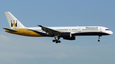 G-MONC - Boeing 757-2T7 - Monarch Airlines