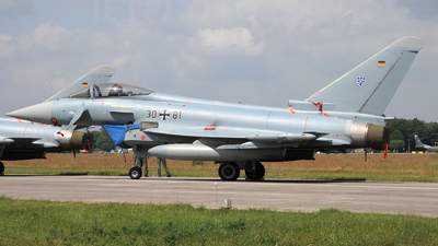 30-81 - Eurofighter Typhoon EF2000 - Germany - Air Force
