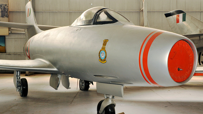 IC554 - Dassault MD.450 Ouragan - India - Air Force