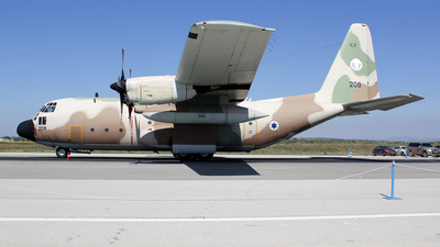 208 - Lockheed C-130H Karnaf - Israel - Air Force