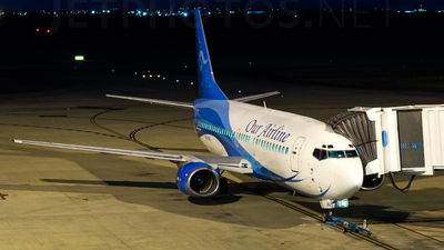 VH-INU - Boeing 737-3Y0 - Our Airline
