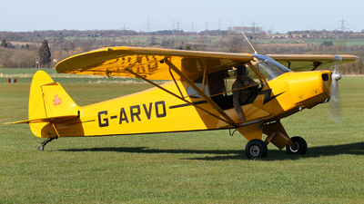A picture of GARVO - Piper PA18 Super Cub - [187252] - © Daniel Nicholson