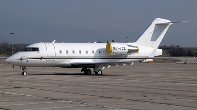 OE-ICL - Bombardier CL-600-2B16 Challenger 604 - Global Jet Austria