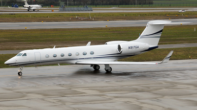 N917GA - Gulfstream G550 - Private