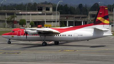 HK-4467 - Fokker 50 - Avianca