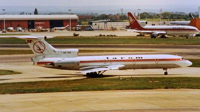 YR-TPE - Tupolev Tu-154B - Tarom - Romanian Air Transport