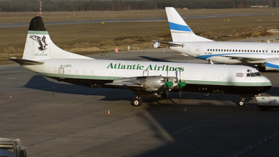 G-LOFC - Lockheed L-188A(F) Electra - Atlantic Airlines