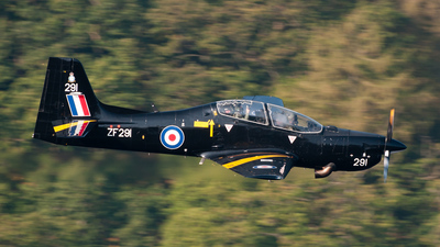 ZF291 - Short Tucano T.1 - United Kingdom - Royal Air Force (RAF)