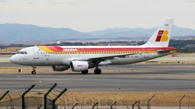 EC-HAG - Airbus A320-214 - Iberia