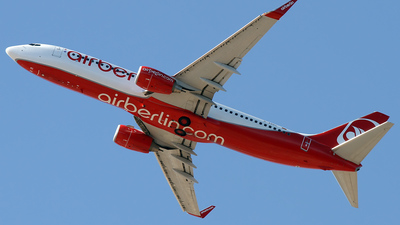 D-ABKC - Boeing 737-86J - Air Berlin