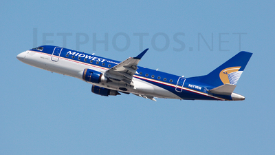 N873RW - Embraer 170-100SE - Midwest Airlines (Republic Airlines)