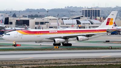 EC-HGX - Airbus A340-313X - Iberia