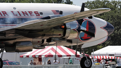 N836D - Douglas DC-7B - Historical Flight Foundation