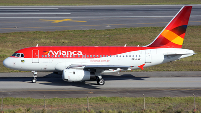 PR-AVK - Airbus A318-121 - Avianca Brasil