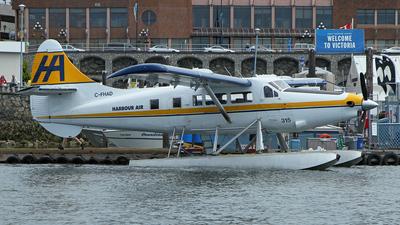 C-FHAD - De Havilland Canada DHC-3T Vazar Turbine Otter - Harbour Air
