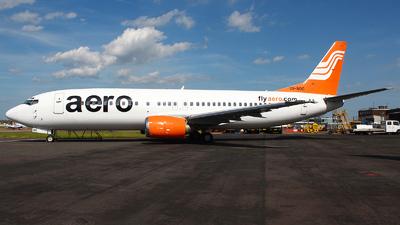 5N-BOC - Boeing 737-42C - AeroCom