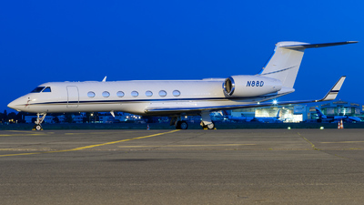 N88D - Gulfstream G550 - Private