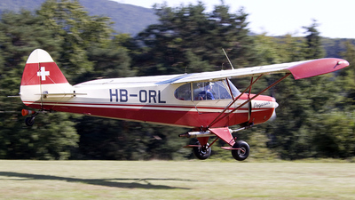 HB-ORL - Piper PA-18 Super Cub - Private