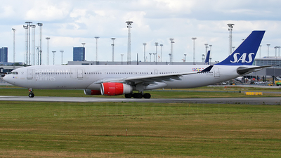 OY-KBN - Airbus A330-343 - Scandinavian Airlines (SAS)