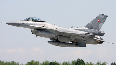 4056 - Lockheed Martin F-16C Fighting Falcon - Poland - Air Force