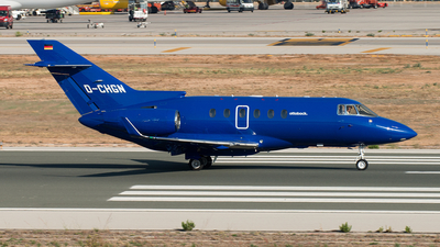 D-CHGN - Hawker Beechcraft 900XP - Private