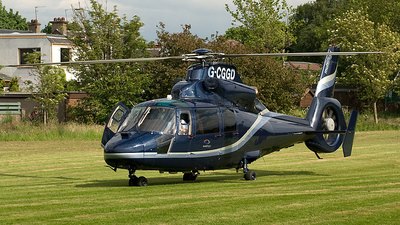 G-CGGD - Eurocopter AS 365N2 Dauphin - Multiflight