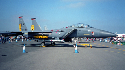 91-0314 - McDonnell Douglas F-15E Strike Eagle - United States - US Air Force (USAF)