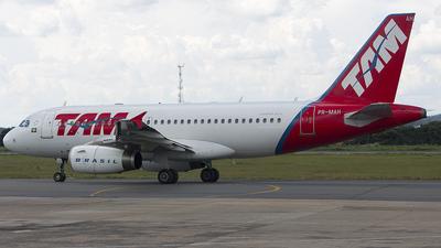 PR-MAH - Airbus A319-132 - TAM Linhas Aéreas