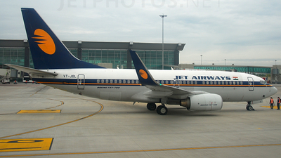 VT-JGL - Boeing 737-76N - Jet Airways